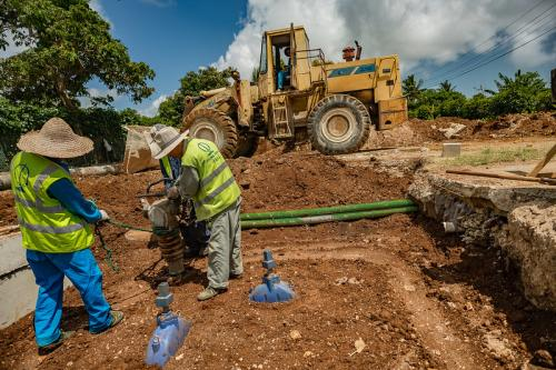 construction work Tonga